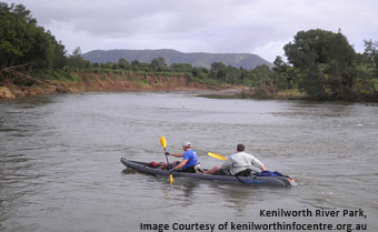 Kenilworth River canoeing